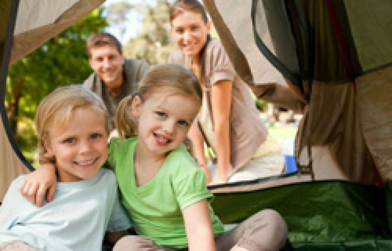 book camping holidays